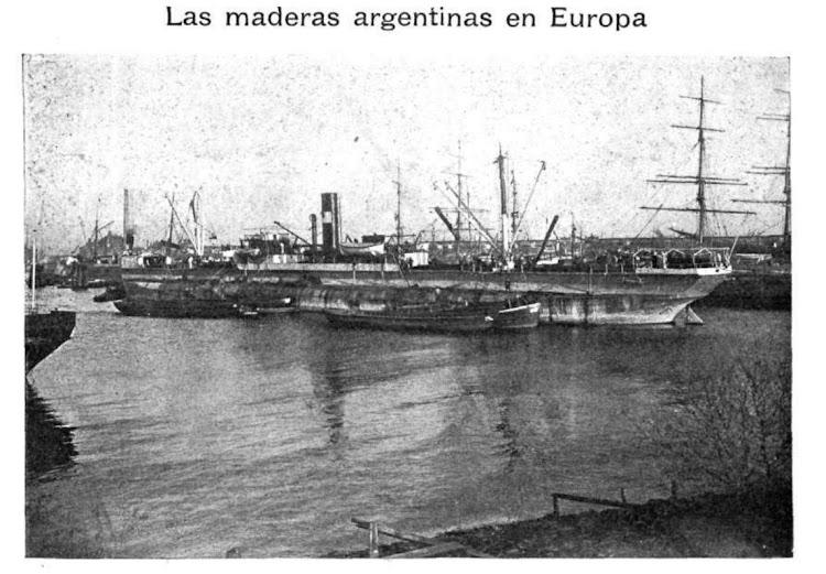 El DICIEMBRE en Hamburgo. Revista Caras y Caretas, edición del 26 de enero de 1901, numero 121, Año IV.bmp