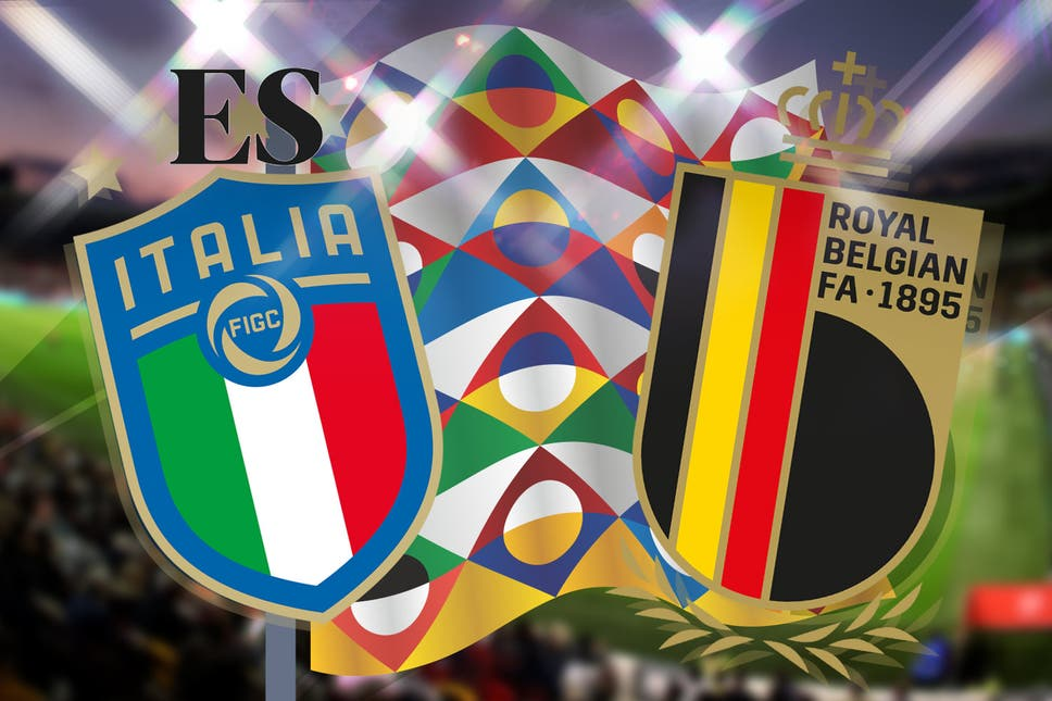 ايطاليا وبلجيكا اليوم