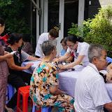 Ban Caritas hạt Phú Thọ khám bệnh người nghèo