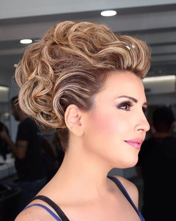 The trendy Wedding Hairstyles For And include hair color 2017 18