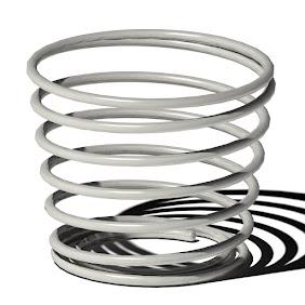 紙コップホルダー-螺旋-