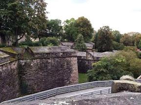 "Medieval built walls that ""protected"" Nierenberg"