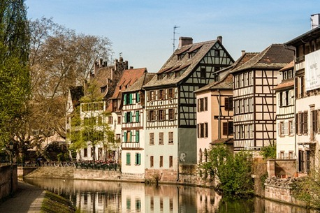 Timber framing buildings in the center of Strasbourg, France; Shutterstock ID 113826703; PO: The Huffington Post; Job: The Huffington Post; Client: The Huffington Post; Other: The Huffington Post