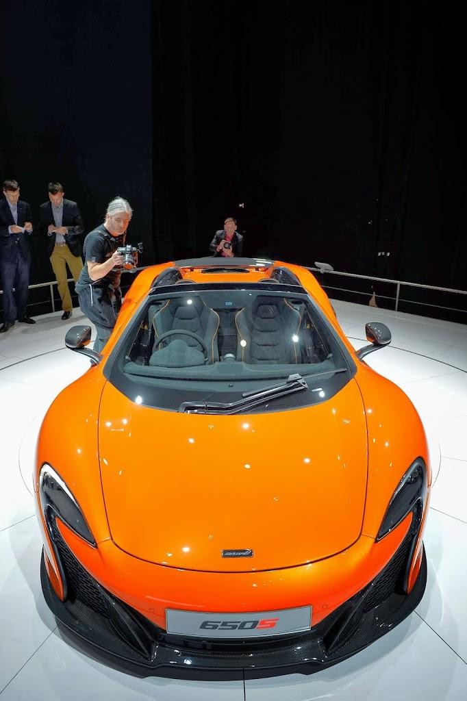 McLaren 650S Spider Geneva Motor Show 31