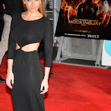 WWW.ENTSIMAGES.COM -    Gemma Merna   at The Hunger Games - Mockingjay - part 1 - UK film premiere at Odeon Leicester Square, London November 10th 2014Premiere of latest film in the Hunger Games franchise, which this time sees Katniss lead a rebellion against the tyrannical and corrupt Capitol.                                                    Photo Mobis Photos/OIC 0203 174 1069