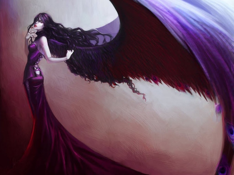 Lady With Purple Wings, Gothic