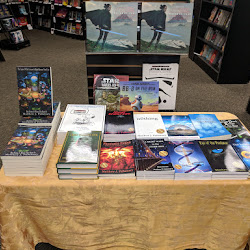 Kickoff Event for The Center Of The Universe Is Right Between Your Eyes But Home Is Where The Heart Is - Mysterious Galaxy Book Store - San Diego, CA 1/6/18