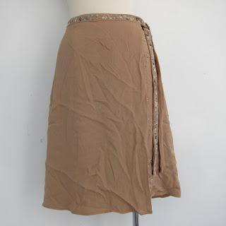 Valentino Silk Wrap Skirt