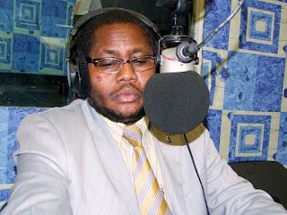 Jean-Chrysostome Vahamwiti, ministre l'Agriculture et du développement rural. Ph. Tony Ntumba.