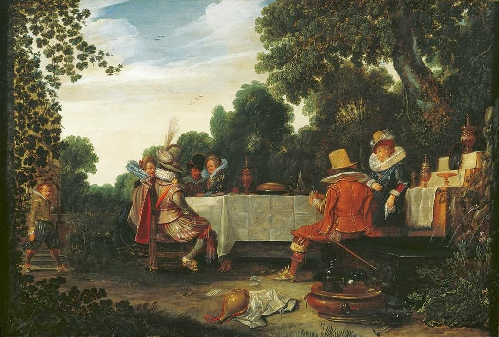 Esaias van de Velde - The garden party
