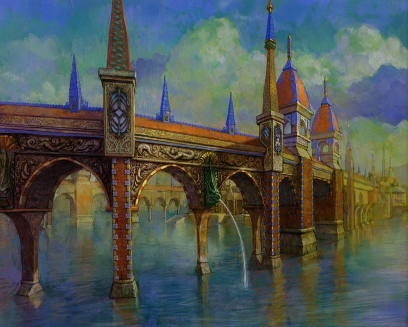 Old Bridge, Magical Landscapes 1