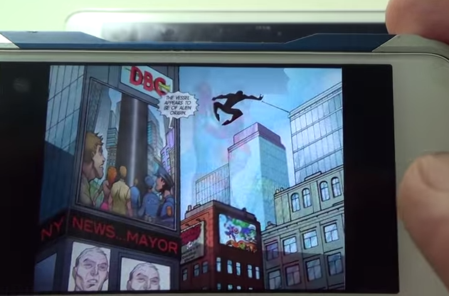 마블 코믹스 영문앱으로 스파이더맨 만화 보기