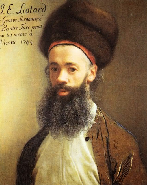 Jean-Etienne Liotard - Self-portrait