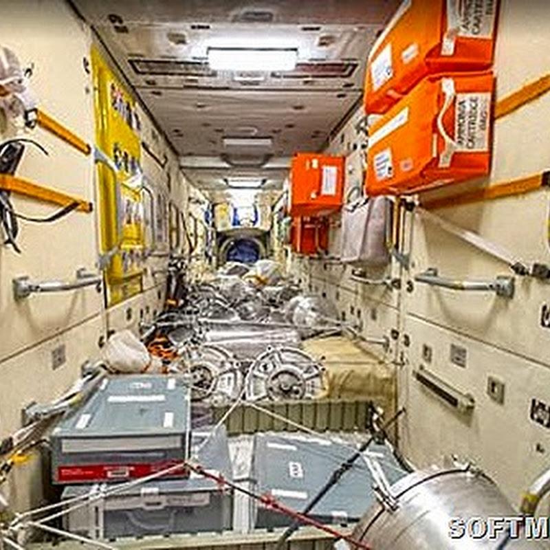 Прогулка по Международной космической станции