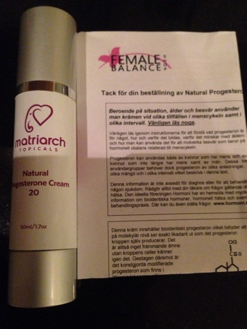hur använder man progesteronkräm