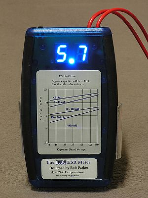 Blue ESR Tester