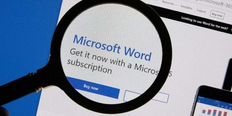 إظهار صفحة واحدة Microsoft Word مميز