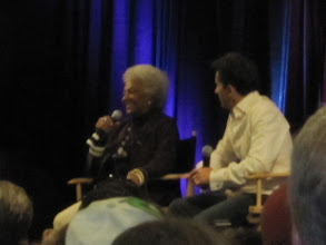 Photo: The lovely AND FUNNY Nichelle Nichols!