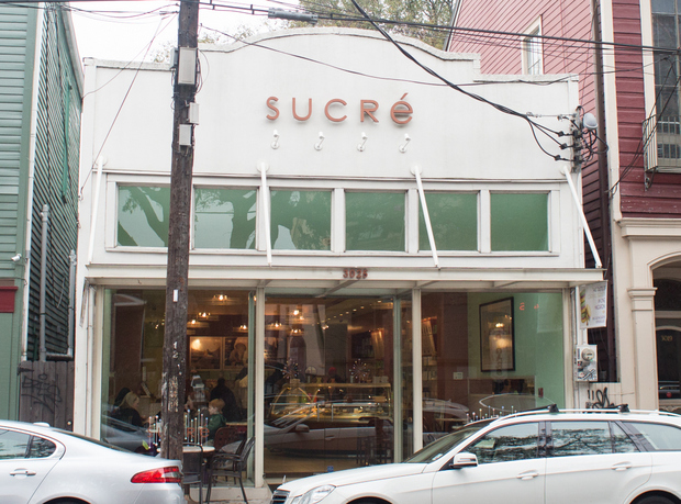 photo of the outside of Sucré