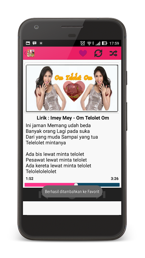ImeyMey Lagu Om Telolet Om MP3- screenshot