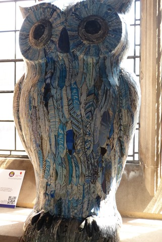 Owl Clawton at st.Martins church
