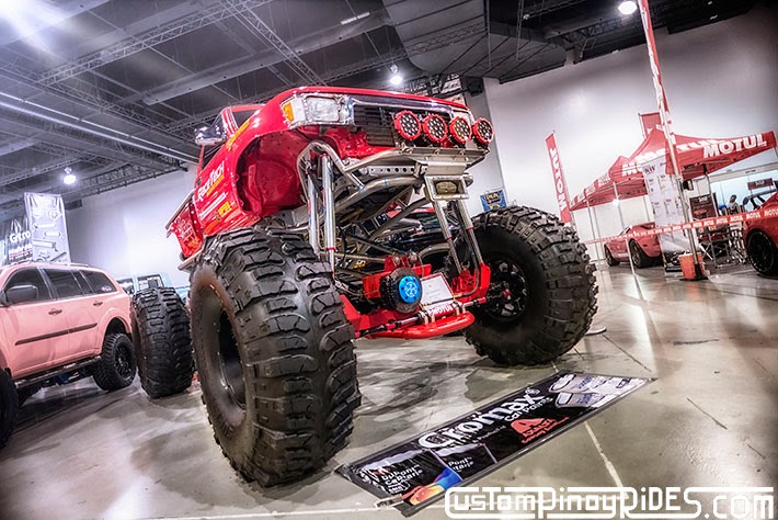 Some of the Best Modified 4x4s of 2013 Manila Auto Salon Custom Pinoy Rides Car Photography Philippines Philip Aragones 199ORH Toyota Hilux Monster Truck2