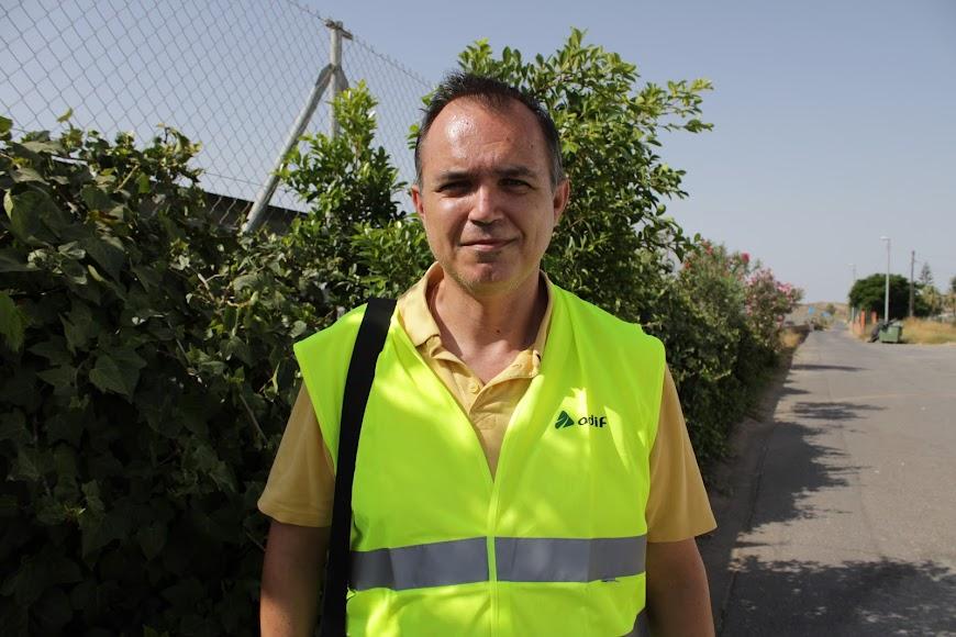 Jesus Manuel Quero, Secretario de organización de UGT Almería
