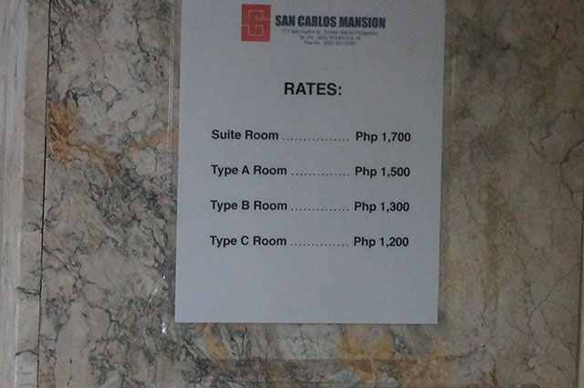 San Carlos Rate