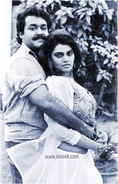 Actress Silk Smitha and Mohalal