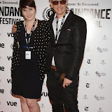 WWW.ENTSIMAGES.COM -   Jamy Warner  and  Elliot Grove     arriving at      The 22nd Raindance Film Festival (I Origins) at  Vue Piccadilly, London September 24th 2014Opening gala for annual London-based independent film festival to promote film about two biologists who uncover evidence that may fundamentally change society as we know it.                                                 Photo Mobis Photos/OIC 0203 174 1069