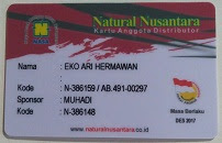 Kartu Distributor Nasa