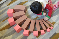 Montessori Sensorial The Brown Stairs