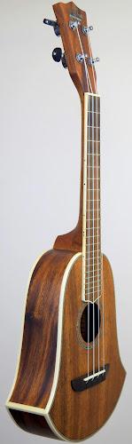 USM washburn monkeypod 0u250 bell ukulele