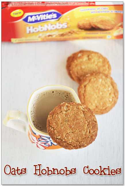 Mcvities Biscuits - Oats Honey Cookies