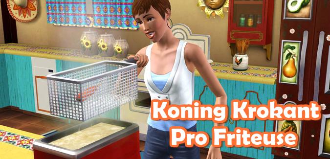 Koning Krokant Pro Friteuse