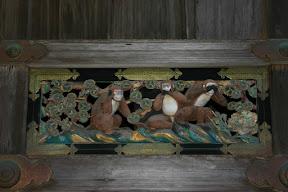 Monkeys, Toshogu Shrine