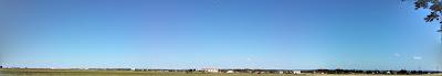 Panorama Richtung Osten nach Schwechat