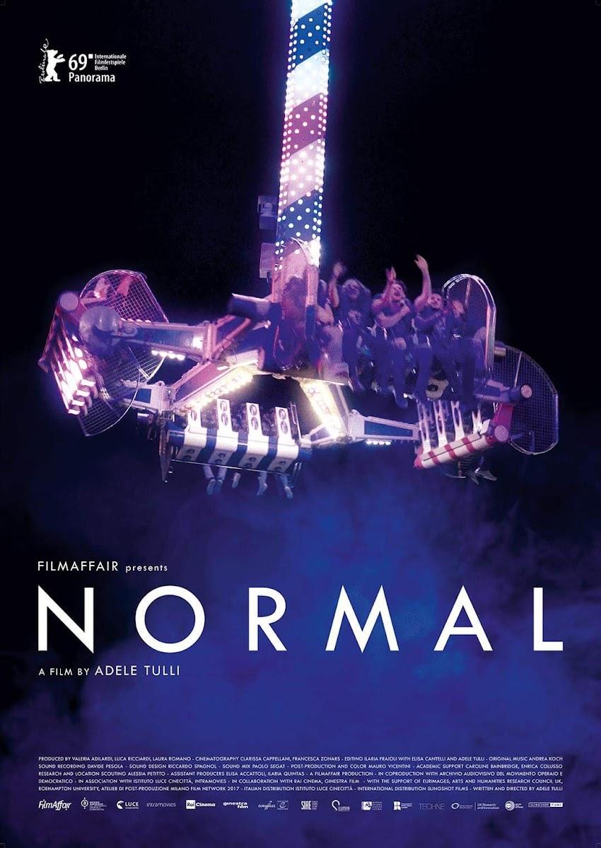 Ecco il poster ufficiale di NORMAL di Adele Tulli