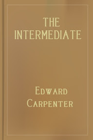 Cover of Edward Carpenter's Book The Intermediate Sex
