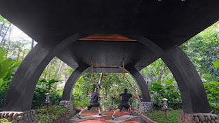 Outdor exercise room capella ubud