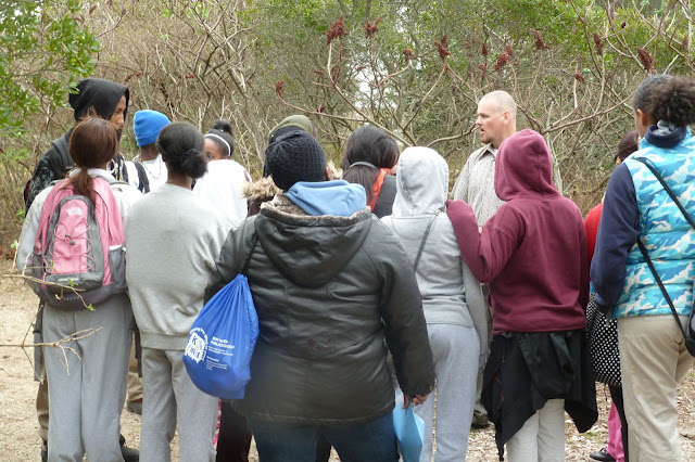 King/Robinson Students Visit Hammonasset - P1020442.JPG