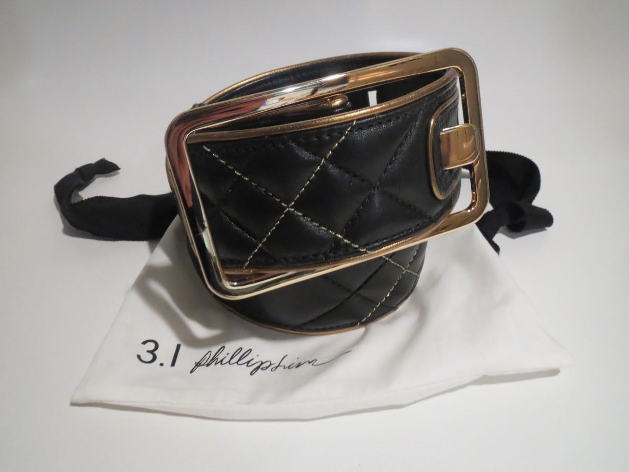 3.1 Philip Lim Quilted Belt
