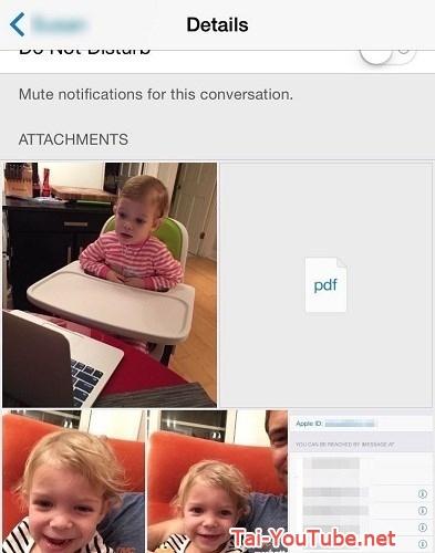 Hình 6 -  Những mẹo nhắn tin Messages trên iOS 8 cho iPhone, iPad
