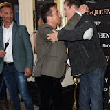 OIC - ENTSIMAGES.COM - Bruno Tonioli and David Hasselhoff attends  McQueen - press night at Theatre Royal Haymarket on the 27th August 2015. Photo Mobis Photos/OIC 0203 174 1069