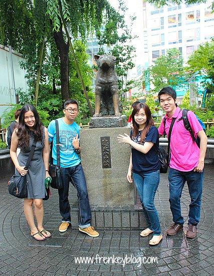 Patung Hachiko di Shibuya Station