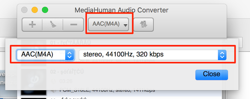 MediaHuman Audio Converter 和 MAC 將wav cue檔切成mp3 1
