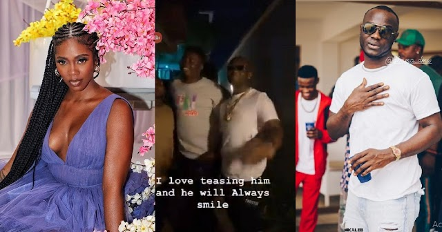 I Like Teasing And He Would Be Laughing – Tiwa Savage Shares Video Teasing Obama DMW [Video]
