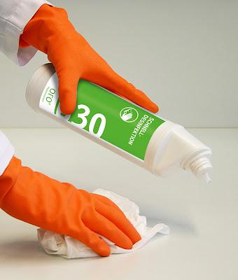 Быстрая дезинфекция поверхностей В30