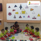 Triangle Day Celebration by Play Group Section (2018-19), Witty World, Goregaon East