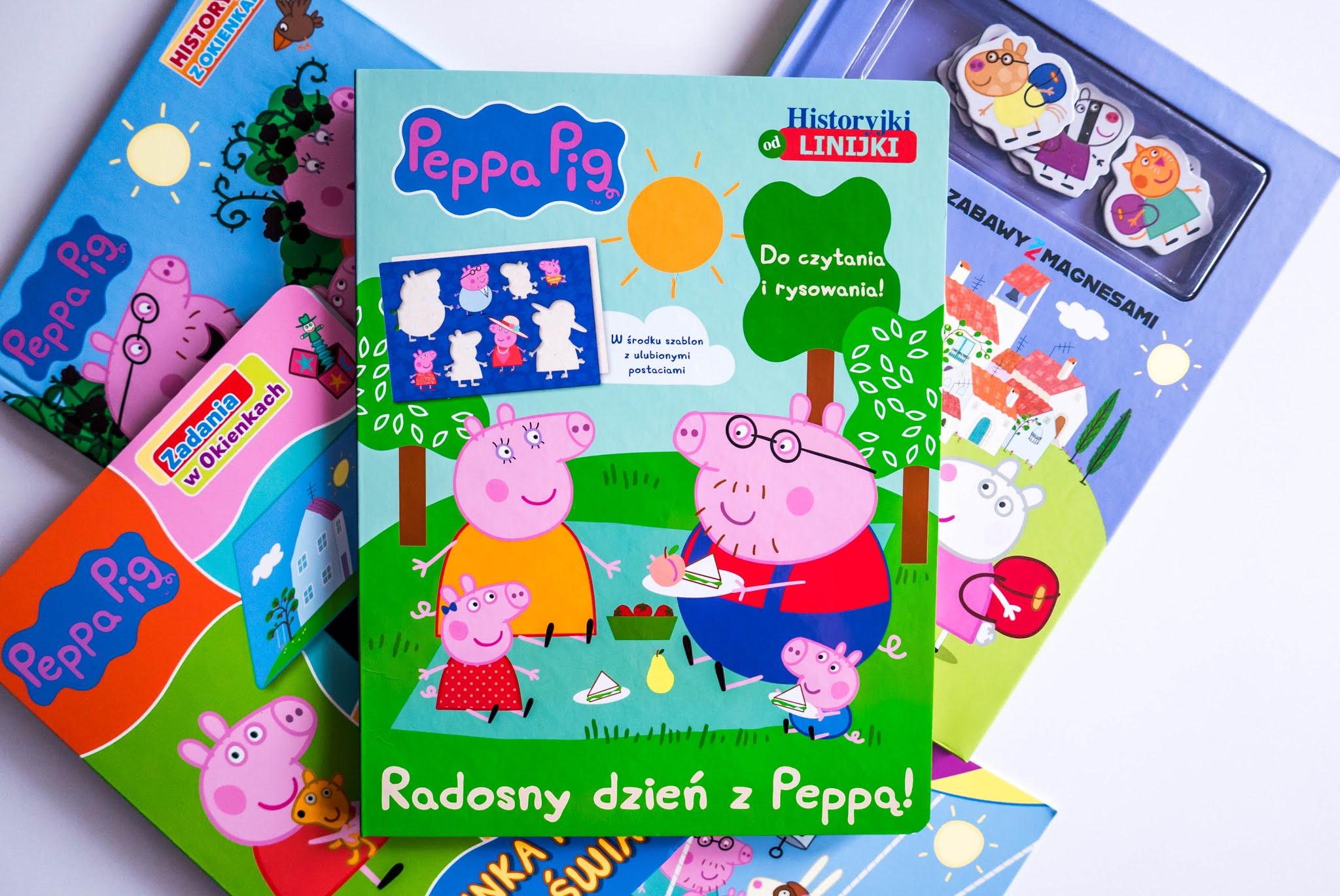 szablony peppa świnka